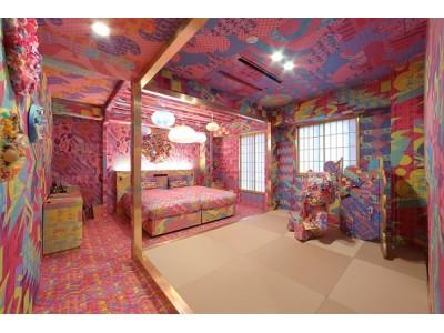 ブッキング・ドットコム、カワイイ!が止まらないインスタ映えスポット「KAWAII Japanese Room - Addicted to TOKYO」11/16・17(土日)限定で一般内覧会を実施!