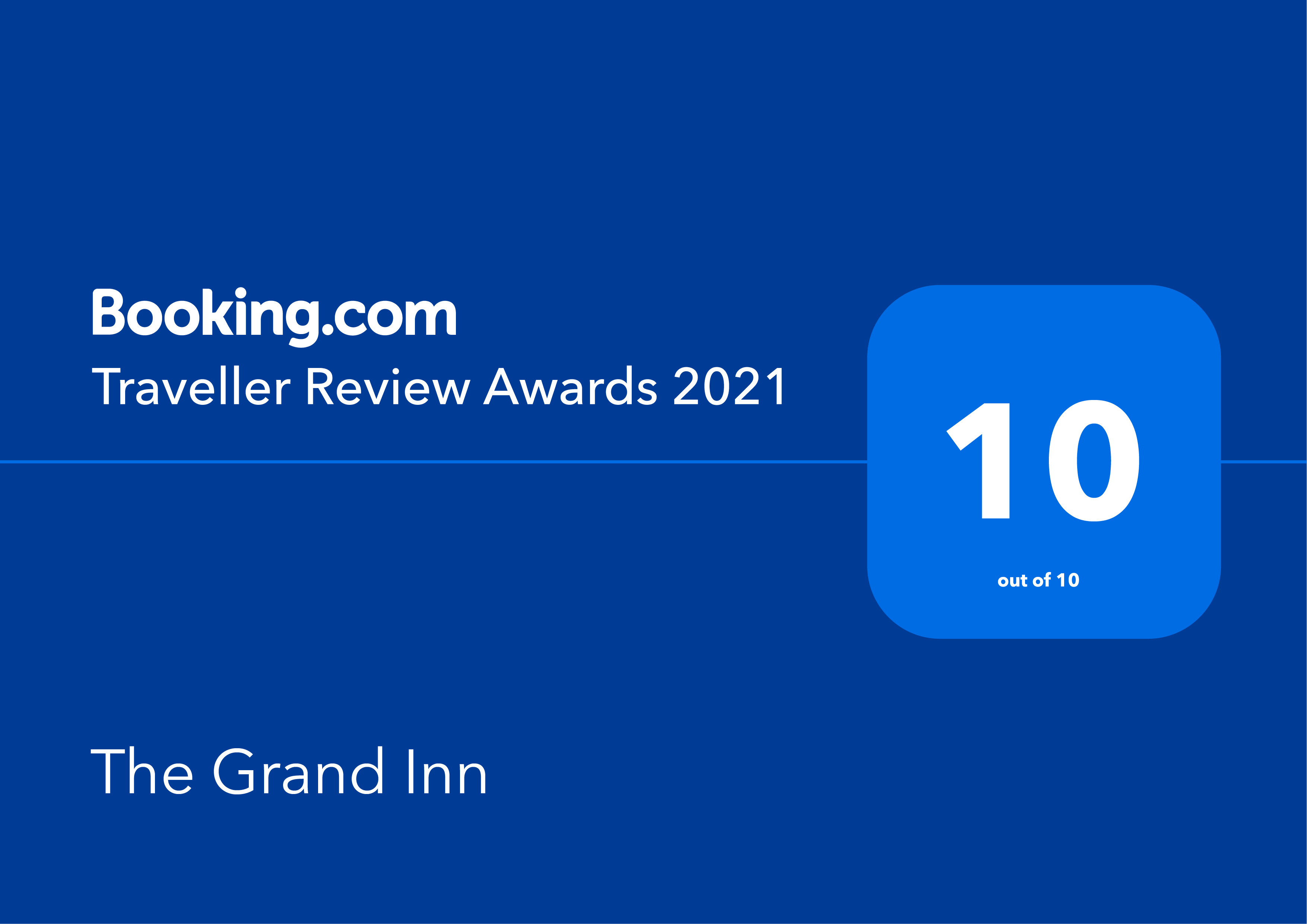 Booking.com、全世界の100万を超えるパートナー施設がTraveller Review Awards 2021を受賞
