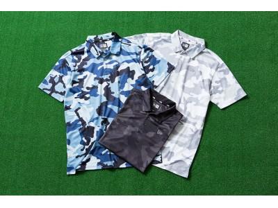 機能素材を採用したニューエラのポロシャツ