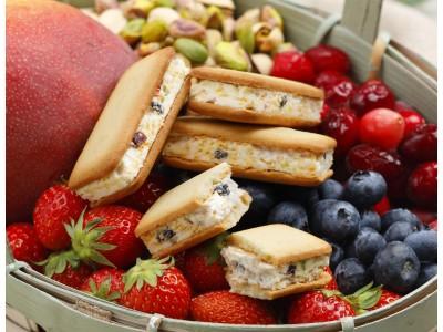 創業60周年を迎えた洋菓子店のフランセから、新商品「果実をたのしむサンドクッキー」を発売します!