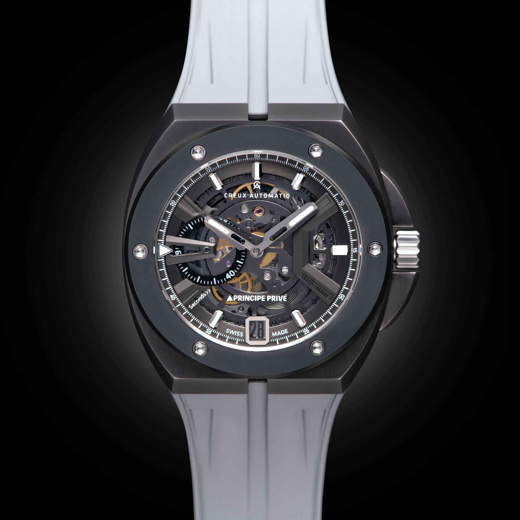 130年の歴史を持つジュエリーメーカーが企画するスイスメイド時計「CREUX AUTOMATIQ(クリュ オートマチック)」と「プリンチペプリヴェ」がコラボレーションモデルを発売