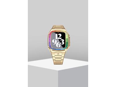 「ゴールデンコンセプト」の人気コレクションEV44 RAINBOWから、ゴールドケースの新色が発売