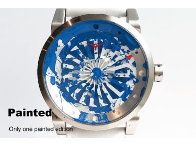 【全て一点物】アメリカ発の個性派時計「ZINVO(ジンボ)」が、職人が全て手作業で加工を施したペイントコレクションが日本初上陸。