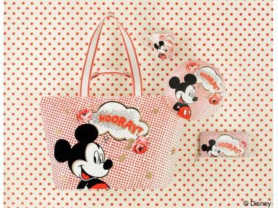 英国のライフスタイルブランド キャス キッドソンがミッキーマウスのスクリーンデビュー90周年を記念したコラボレーションコレクションを発売。