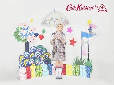 雨の街、ロンドン生まれのキャス キッドソンが贈る雨の日を楽しむハッピーレイングッズ