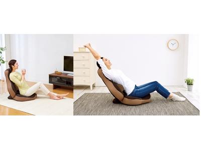 書籍で話題の体幹ストレッチインストラクター 吉田佳代氏が監修 腰への負担を軽減する特許構造搭載のストレッチ座椅子を開発 腰楽ストレッチ座椅子 グイッス 2021年6月10日(木)より予約販売開始