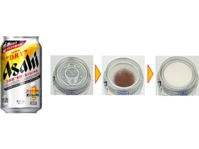 日本初※!缶のふたを全開すると泡が自然に発生する商品!『アサヒスーパードライ 生ジョッキ缶』4月20日(火)発売!コンビニエンスストアでは4月6日(火)先行発売!
