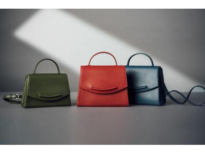 マザーハウスが秋冬の新作バッグ『Emy(エミー)』を発表。エレガントなトップハンドルバッグに、チャーミングな微笑みを。
