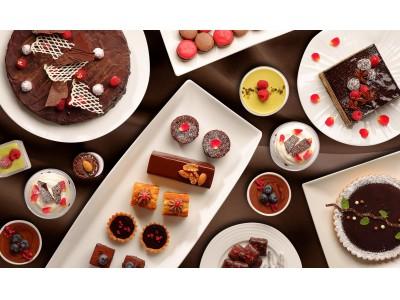 【オリエンタルホテル広島】タピオカ×オーガニックチョコレートのスペシャルデザートの他、約20種類が並ぶチョコレートブッフェ