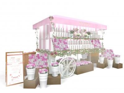 """大人気の濃密バラ泡洗顔「エビータ ビューティホイップソープ」を無料で体験できるイベント""""バラ泡 FLOWER MARCHE""""を大阪・なんばCITYで開催!"""