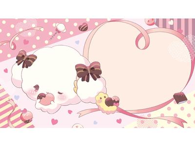 小麦粉の妖精のキャラクターこぎみゅんが初挑戦!バレンタインデーに日頃の感謝を込めた歌を贈ります
