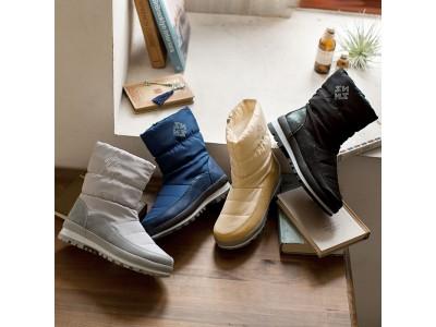 防寒対策は足元から!はっ水加工と内側ボアで雪の日もあったか。幅広さんもゆったり履ける「4Eはっ水ウィンターブーツ」~脱ぎ履きしやすいショート丈~