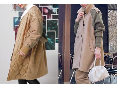 一足先に手に入れたい2021年秋冬の最新トレンドコート Rananから異素材ミックスコートが新登場