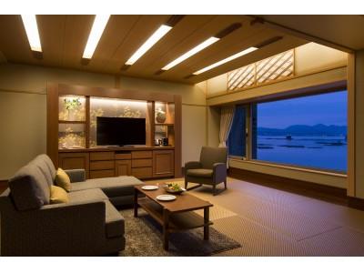 カワキュウスイート和洋室9室をリニューアル。和モダンのワンルーム感覚の快適さを追求した「モダンジャパニーズスイート」が7/8誕生。