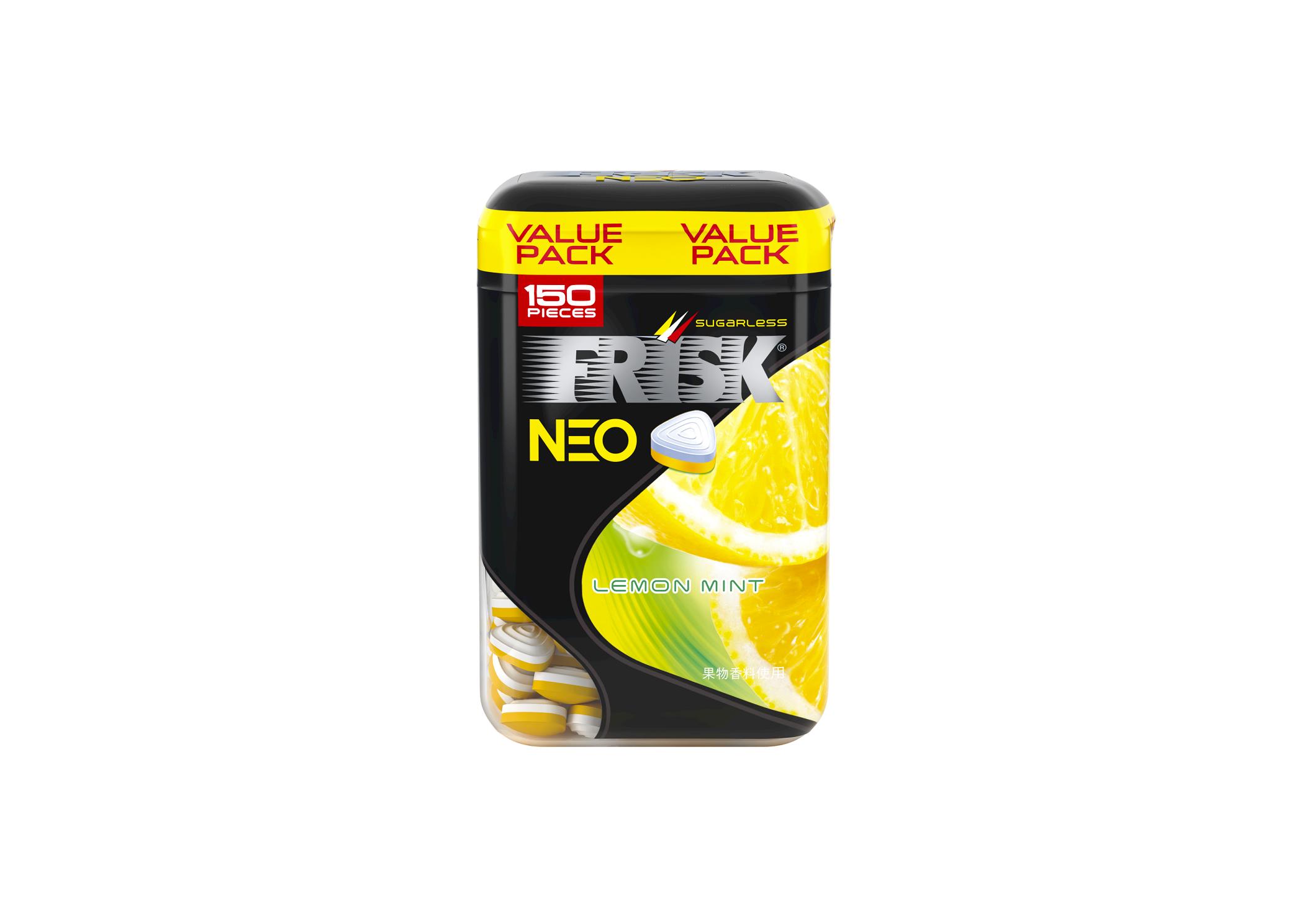 「フリスク ネオ ボトル レモンミント」「フリスク ネオ ボトル オレンジ」を3月1日に発売 画像
