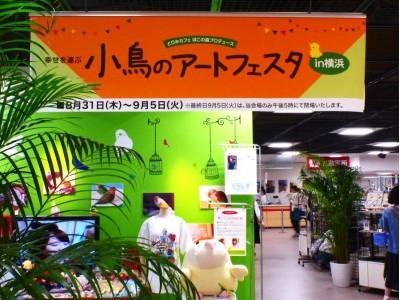 8月29日(水)~9月3日(月)開催!幸せを運ぶ【小鳥のアートフェスタ in 横浜】