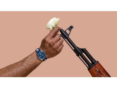 """平和と公正をすべての人に。北欧スウェーデンのウォッチブランドTRIWAより違法銃器を溶かして固めた金属""""Humanium Metal""""から作られた腕時計の限定モデルが発売。"""