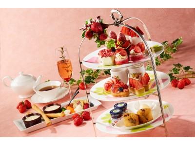 【ザ・プリンス パークタワー東京】いちごをふんだんに使用した華やかなスイーツや話題の「アリゴ」を楽しむ「ストロベリーアフタヌーンティーセット」を販売