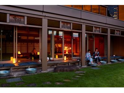 【ザ・プリンス パークタワー東京】浴衣を着て縁側で夕涼み!日本ならではの夏を体験できる期間限定カフェ「SUZUMUSHI CAFE」をオープン