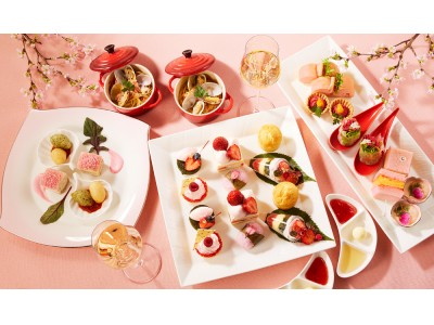 【東京プリンスホテル】桜を眺めながら楽しむ、桜をテーマにしたアフタヌーンティーとハイティーを販売