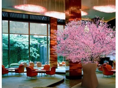 【リーガロイヤルホテル(大阪)】高さ約3mに及ぶ桜の木を4日間限定で装飾!~ホテル内にいながら一足先に春の訪れを~