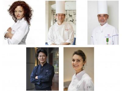 【リーガロイヤルホテル(大阪)】フランス星付きシェフとフランス料理界を牽引する日本のシェフによる一夜限りの特別コースを提供。ダイナースクラブ フランス レストランウィーク2018 ガラディナー。