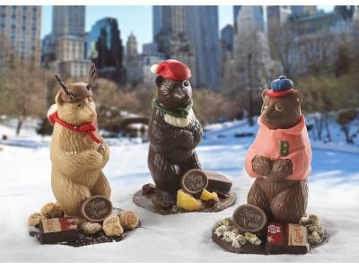 【リーガロイヤルホテル(大阪)】眠さ限界のクマやかわいらしいおうちなどショコラティエの遊び心が光るクリスマスショコラ