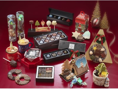 【リーガロイヤルホテル(大阪)】大切な人やご自身へのご褒美ギフトに。ショコラティエの遊び心いっぱいのクリスマス限定ショコラ
