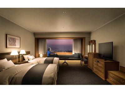 【リーガロイヤルホテル広島】広島の美しい景色を眺める寛ぎの時間と上質な空間を提供エグゼクティブフロア(全38室)と「ロイヤルスイート」を改装