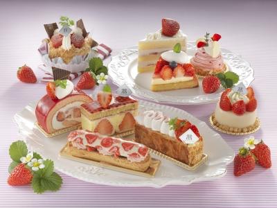 【リーガロイヤルホテル(大阪)】苺を使った可愛らしいケーキやパン16種類がラインアップ|グルメブティック...