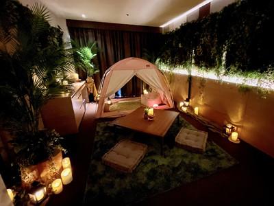 【リーガロイヤルホテル京都】《セガトイズ×リーガロイヤルホテル京都》~自然の中で星空を眺めているかのよう...