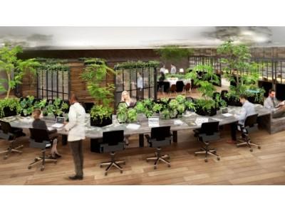 オフィス緑化サービス『COMORE BIZ』が、ハイレゾ空間音響デザイン『KooNe』とコラボレーション