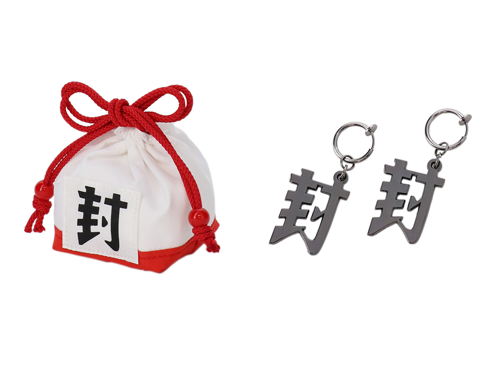 ACOS(アコス)より「地縛少年花子くん」巾着&イヤリングが発売決定