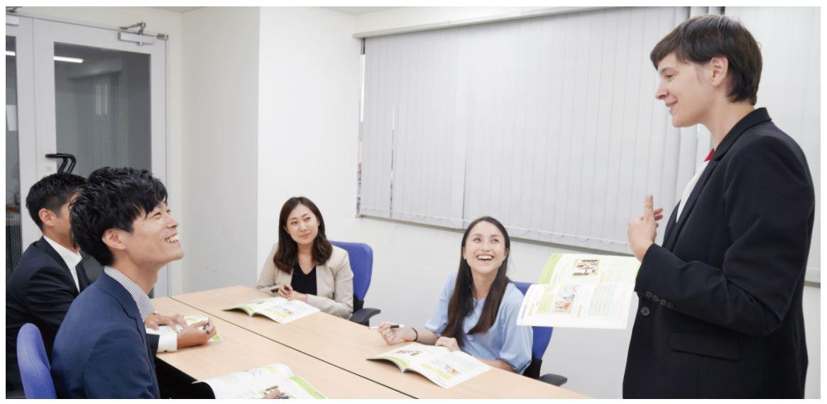 JOCで日本代表選手を支える職員向けの英会話レッスンを開始
