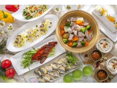 小田原・相模湾の春 魚介もお肉も大満足のランチブッフェがスタート