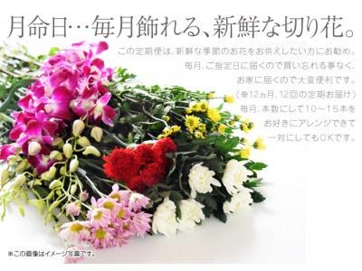 忘れずに送りたいから! [  月命日お供え花の定期便 ] はじめました。