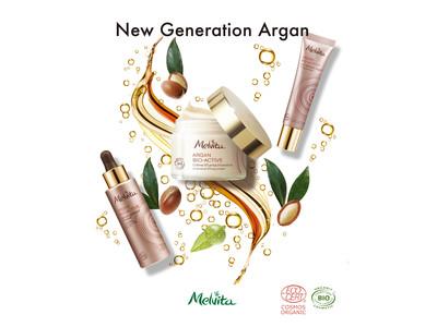 オーガニック認証コスメのメルヴィータから、 「発酵」を活用した真のハリ肌スキンケア「アルガンビオアクティブ」新発売
