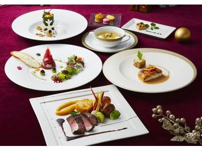 【ロイヤルパークホテル】多彩な「クリスマスディナー」と豪華なブッフェ。サンタに会えるイベントも開催!