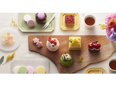 """日本の春を愛でる""""にっぽんの洋菓子""""四季菓子の店 H I B I K A(ひびか)3 / 1(金)より""""春の四季菓子"""" を発売いたします。"""