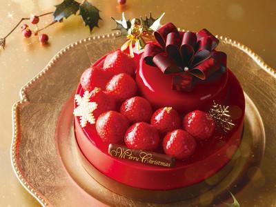 ラグジュアリーなクリスマスケーキを100台限定でお届けします。【アンテノール】 予約限定ケーキのプレゼントキャンペーンもスタート!