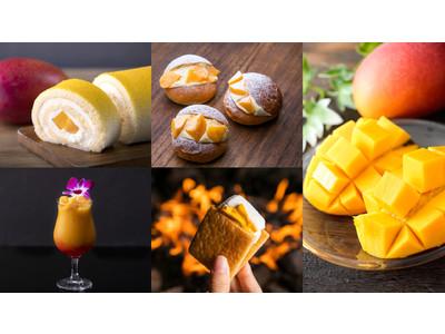 一度食べたら忘れられない、トロピカルで濃厚な甘み。宮崎シーガイア「マンゴーフェア」開催