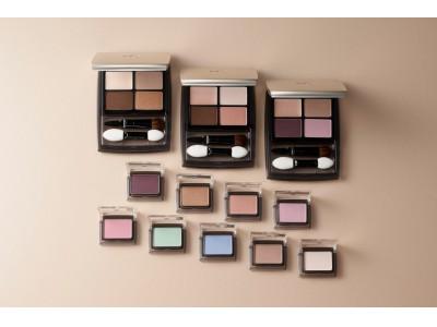 8月20日 リニューアル発売  従来品の人気色にトレンド色や新色を追加!「スタイリングアイパレット」「パウダーアイカラー」
