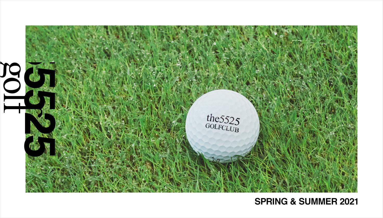 「5525gallery」とナノ・ユニバースのゴルフウェアブランド、「5525golf」がスタート