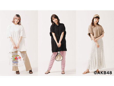 AKB48とナノ・ユニバースのコラボレーションアイテムが発売決定!