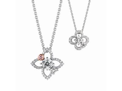 """夢を叶える、ふたつの星のダイヤモンド """" Wish upon a star(R) """" と世界的ダイヤモンドファーム Lili Diamonds 社による、優美なコラボレーションジュエリーが登場"""