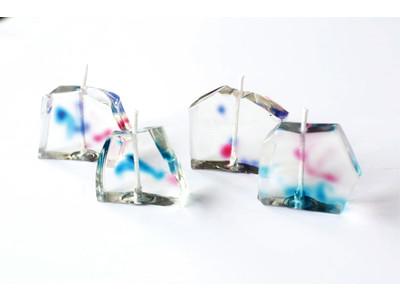ガラスのような透明感と硬さのジェルキャンドルが作れるワックス!「カメヤマウルトラハードジェル」が登場!