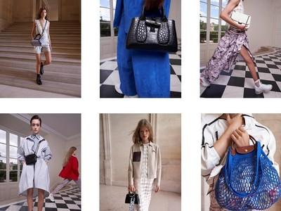 ロンシャン2021年春夏コレクション「Tres Paris~現代のパリジェンヌを讃える調べ~」