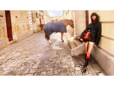 ロンシャン、ミカ・アルガナラズを起用した2021年秋冬コレクション「tres paris(トレ パリ)」のキャンペーンビジュアルを2021年9月7日(火)公開