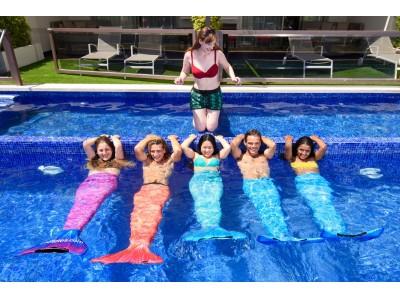 憧れのマーメイドになれたなら・・・  Hotels.comで、今話題のマーメイド・エクササイズに飛び込み参加!? マーメイド・エクササイズで#マーメイド映えなお休みを!