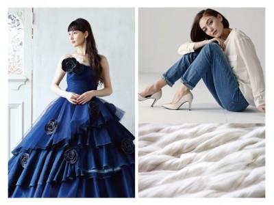サムシングから、女性のための2つの新しいデニムスタイルを発表!ドレスとデニムが出会う私らしい「パーティーデニム」、シルクとデニムが出会う極上の「シルクinデニム」。